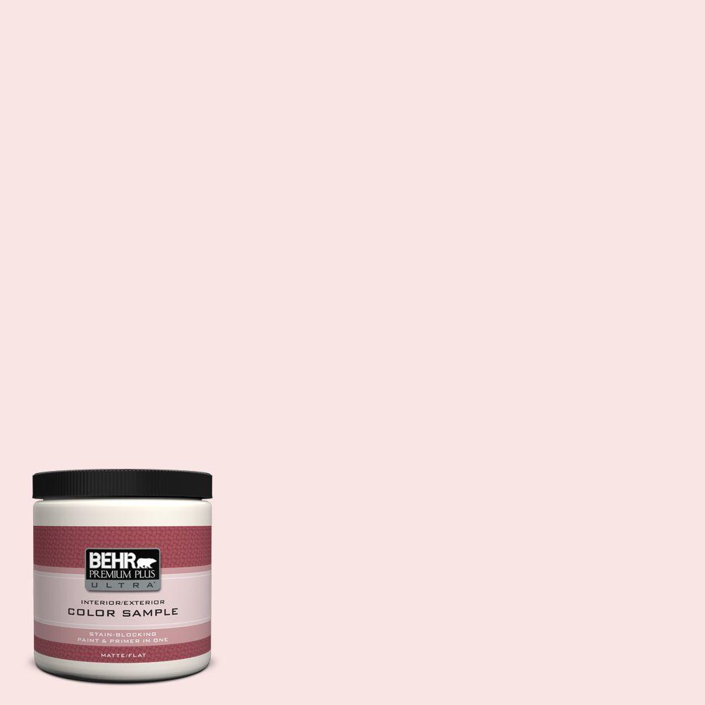 BEHR Premium Plus Ultra 8 oz. #130A-1 Sweet Nothing Interior/Exterior Paint Sample