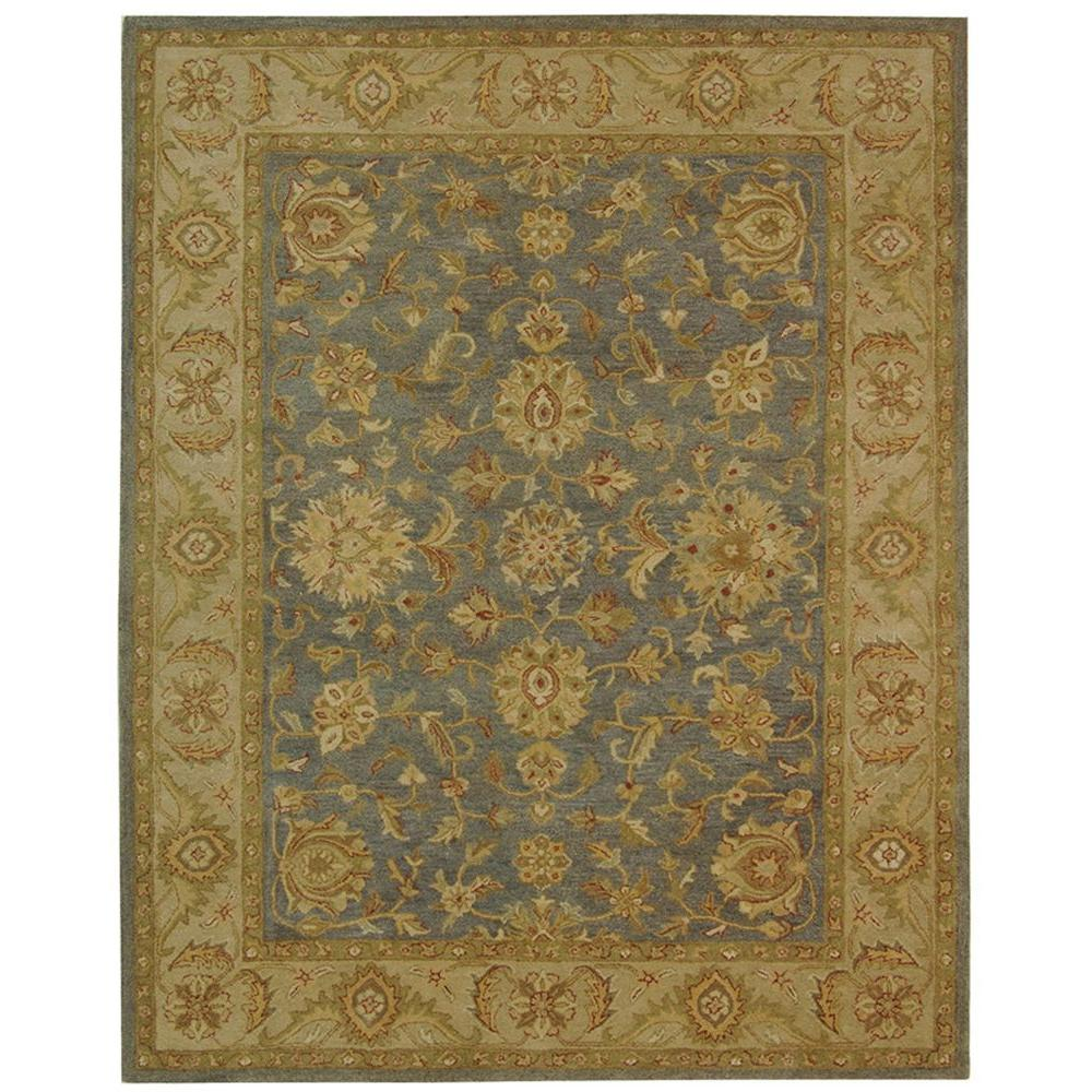Safavieh Antiquity Blue/Beige 5 ft. x 8 ft. Area Rug-AT312A-5 -