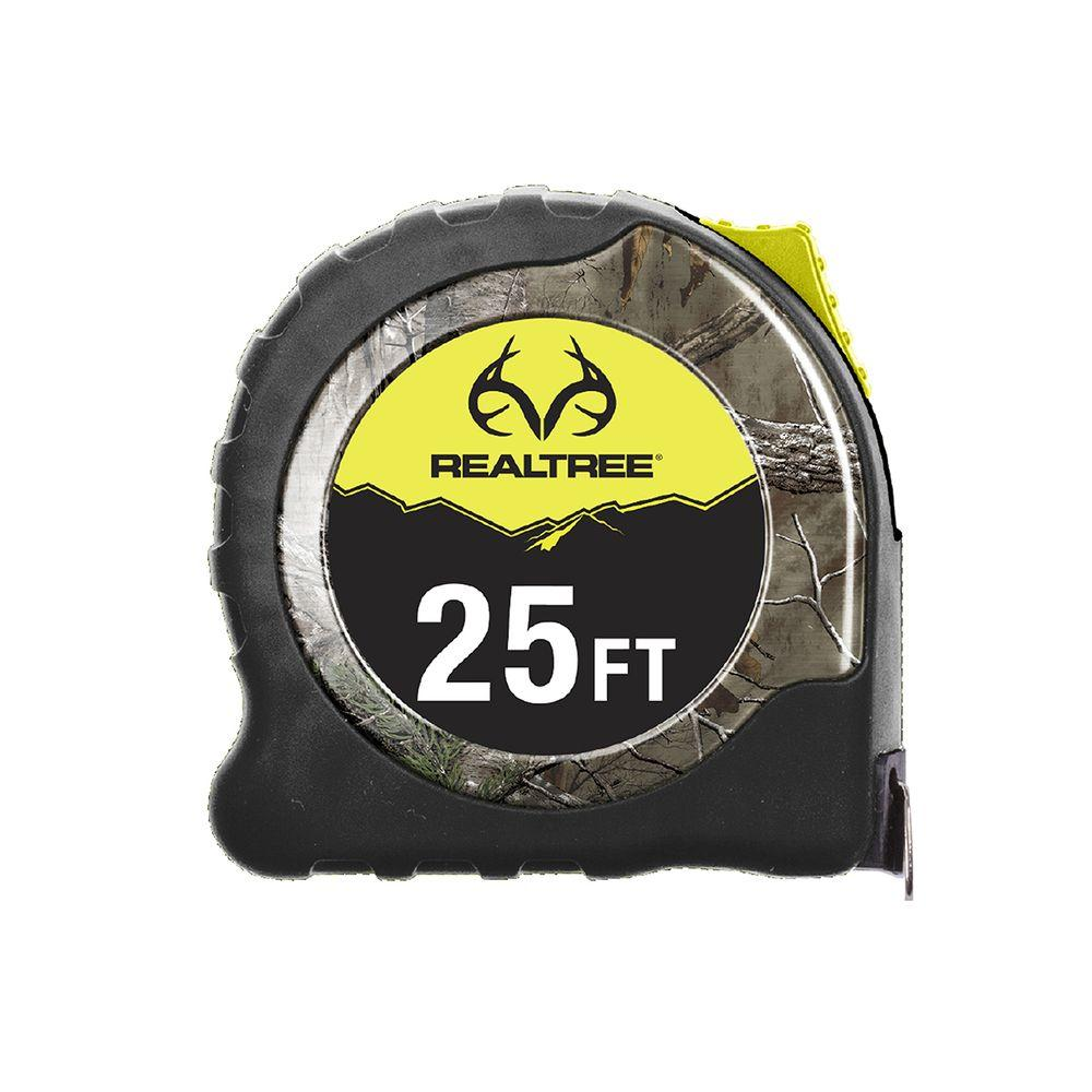 Realtree 25 ft. Tape Measure-RTO4001 - The Home Depot