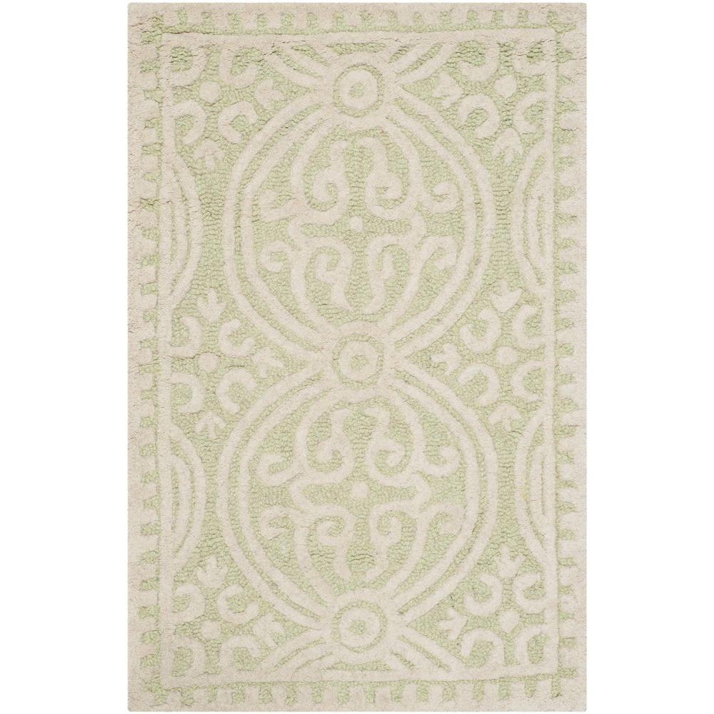 Safavieh Cambridge Light Green/Ivory 2 ft. x 3 ft. Area Rug