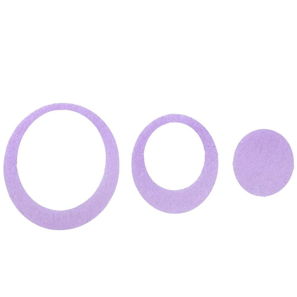 Venturi SlipX Solutions Adhesive Oval Treads in Purple (2...