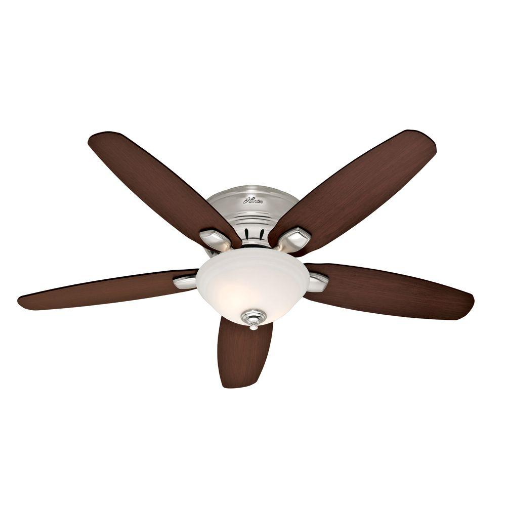 Hunter Fremont 52 in. Brushed Nickel Ceiling Fan-DISCONTINUED