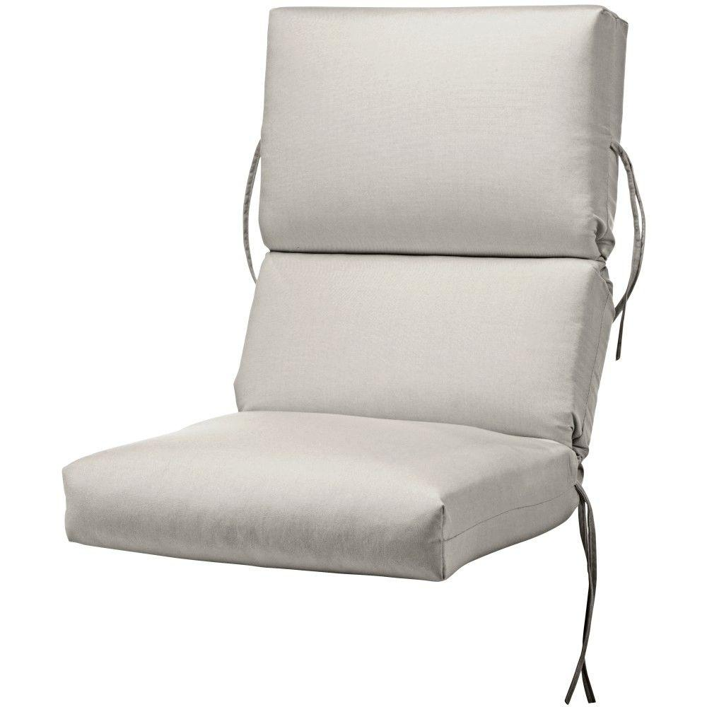 Home Decorators Collection Sunbrella Spectrum Dove Outdoor Lounge Chair