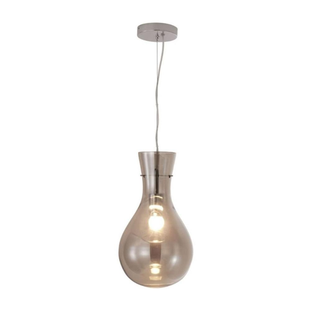 ZUO Nuclear 1-Light Smoked Ceiling Pendant