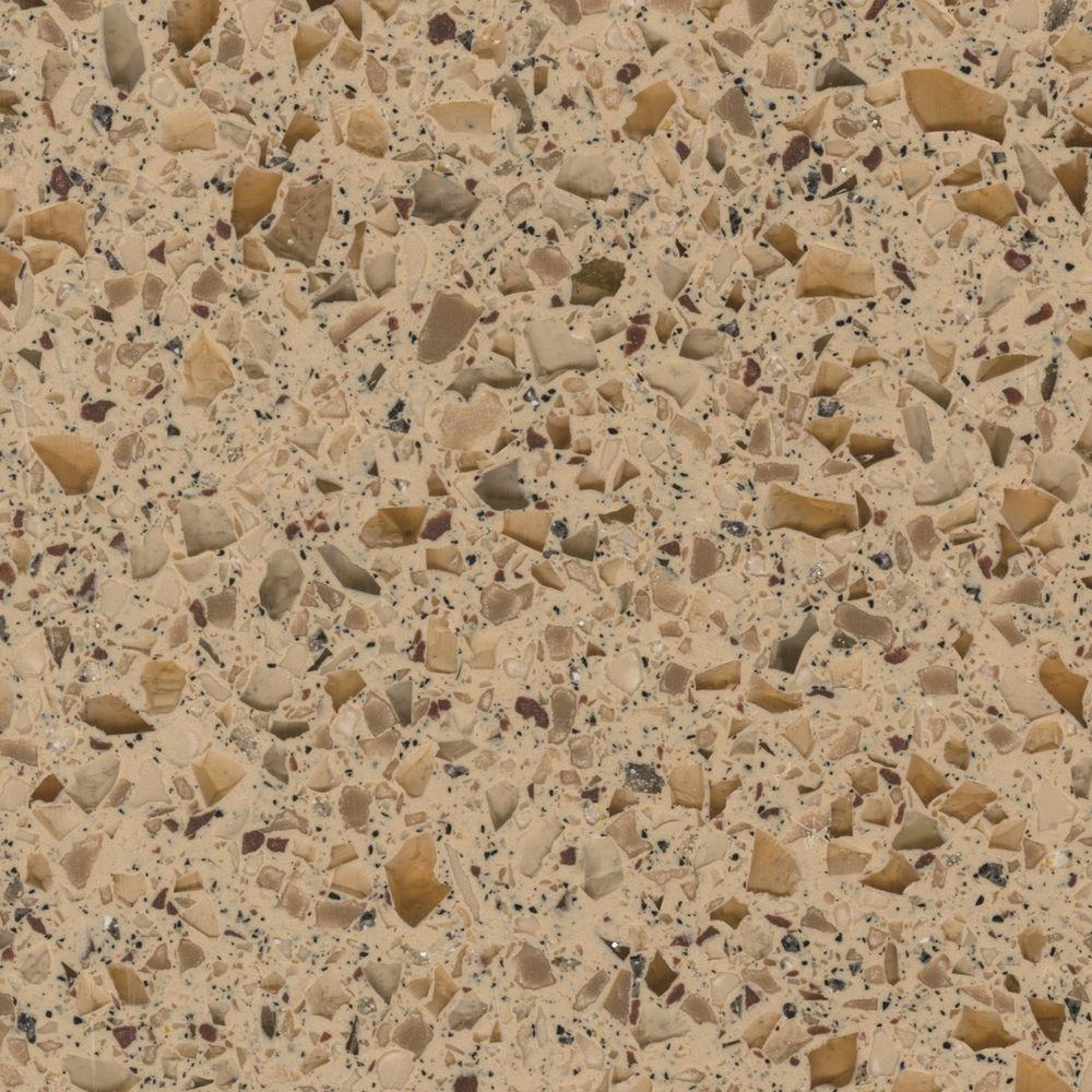 LG Hausys HI-MACS 2 in. Solid Surface Countertop Sample in Pluto