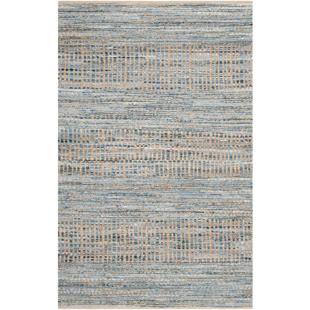 Safavieh Cape Cod Natural/Blue 4 ft. x 6 ft. Area Rug