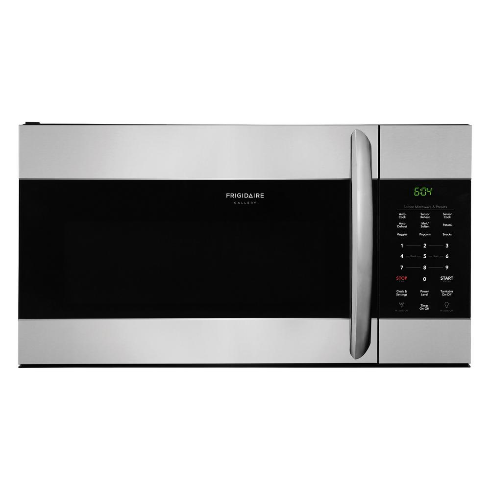 1.7 cu. ft. Over the Range Microwave in Smudge-Proof Stainless Steel
