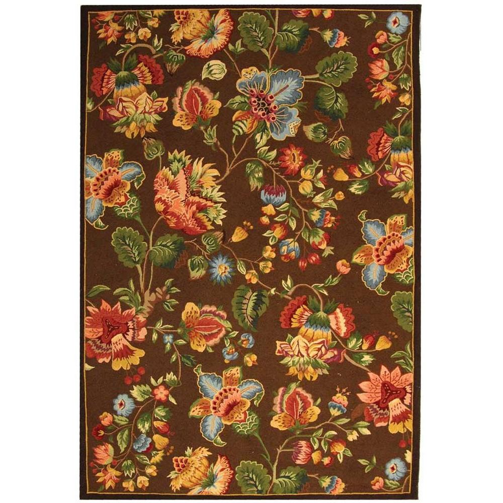 Safavieh Chelsea Brown 6 ft. x 9 ft. Area Rug