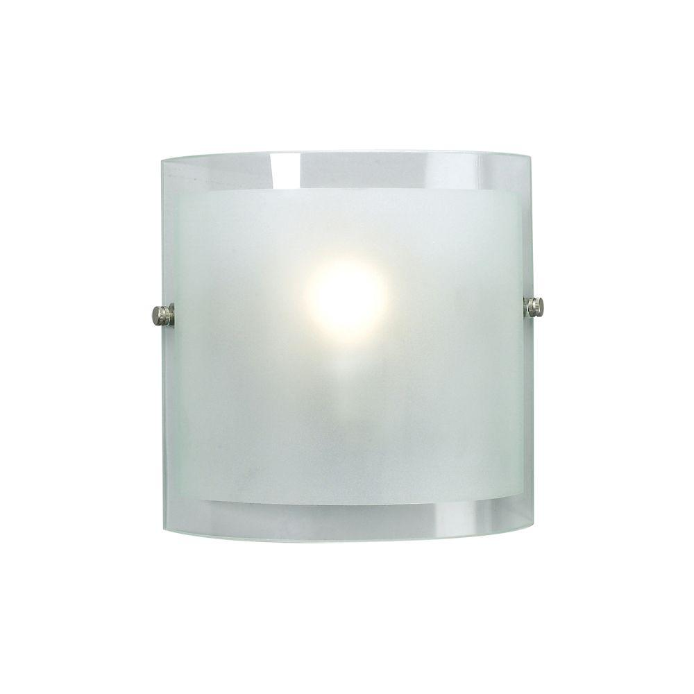 Eurofase Loretto Collection 1-Light Satin Nickel Wall Sconce - DISCONTINUED