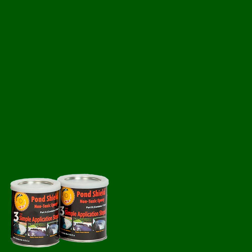 Pond Armor Pond Shield 1.5-qt. Forest Green Non Toxic Epoxy