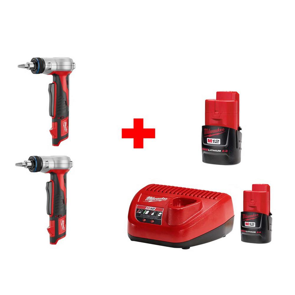 M12 12-Volt Lithium-Ion Cordless Propex Expansion Combo Kit (2-Tool)