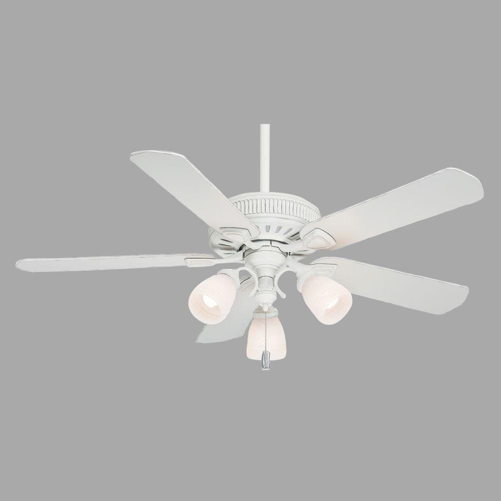 Casablanca Ainsworth Gallery 54 in. Cottage White Ceiling Fan-54005 - The