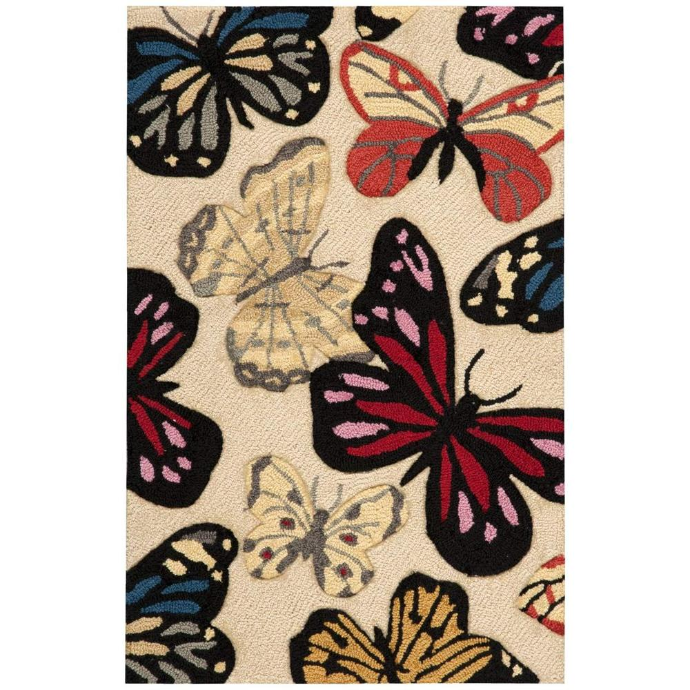 Fantasy Beige 2 ft. 6 in. x 4 ft. Accent Rug