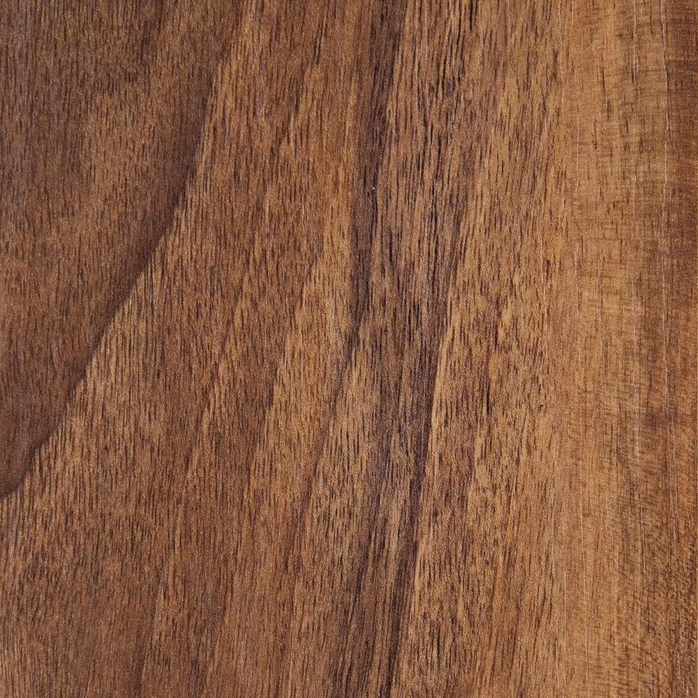Hampton Bay Hand Scraped Walnut Plateau Laminate Flooring - 5 in. x 7 in. Take Home Sample