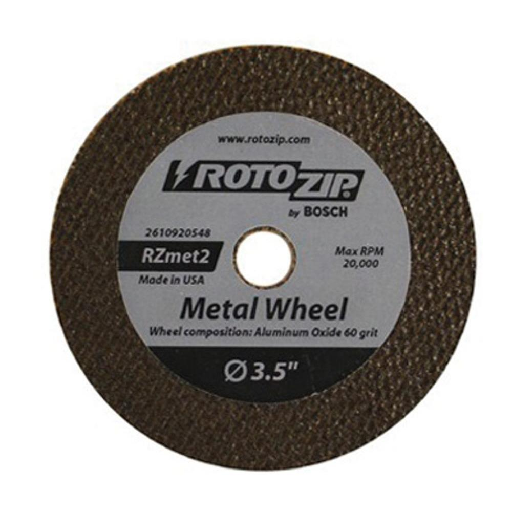 Rotozip Zip Wheel for Metal (2-Pack)
