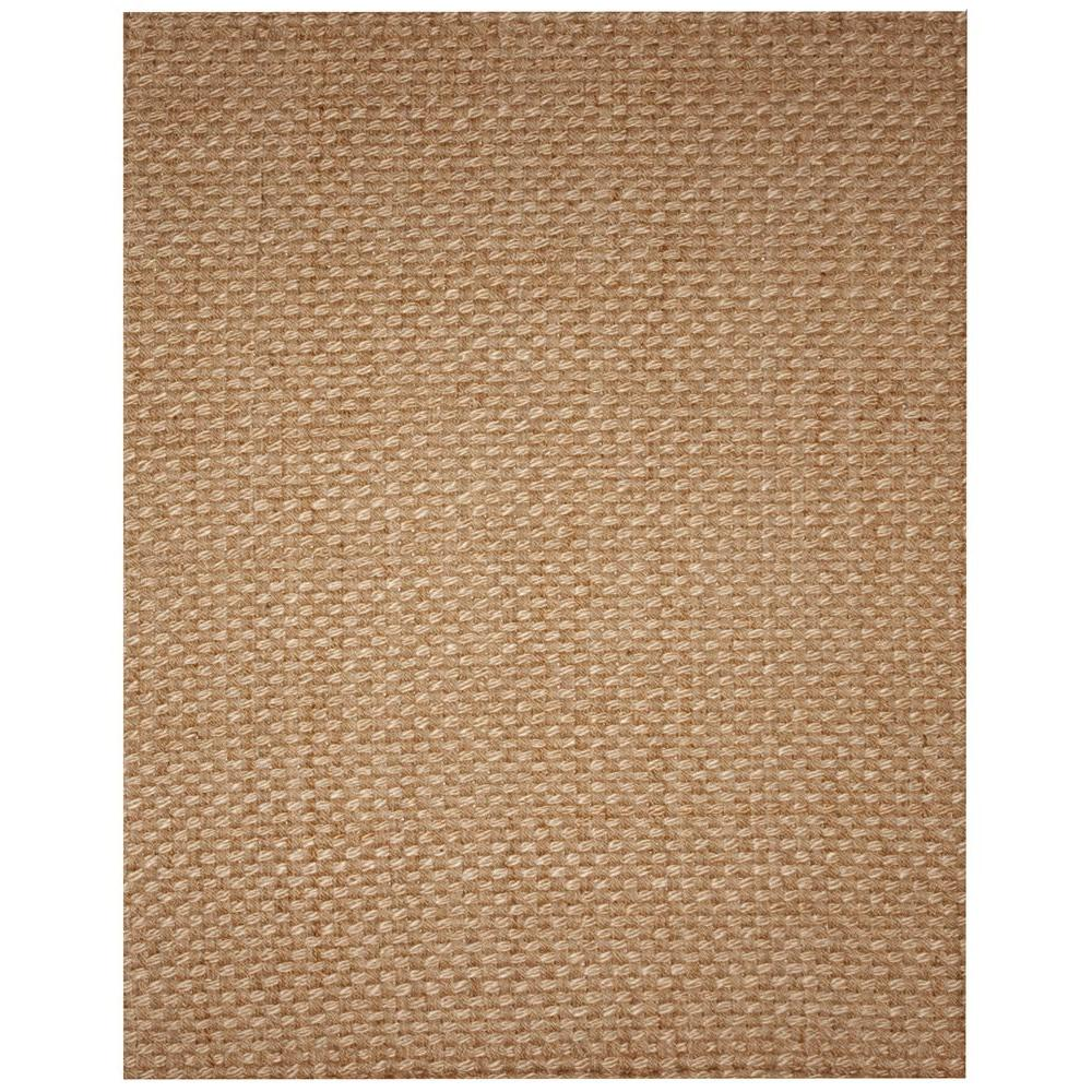 Kilimanjaro Tan 5 ft. x 8 ft. Jute Area Rug
