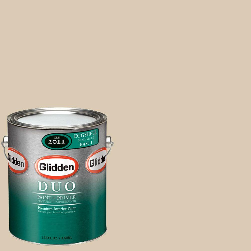 Glidden DUO Martha Stewart Living 1-gal. #MSL201-01F Reed Eggshell Interior Paint with Primer-DISCONTINUED