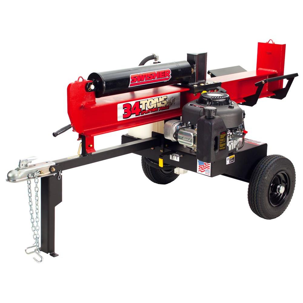 Swisher 344 cc 34-Ton Gas Log Splitter-DISCONTINUED