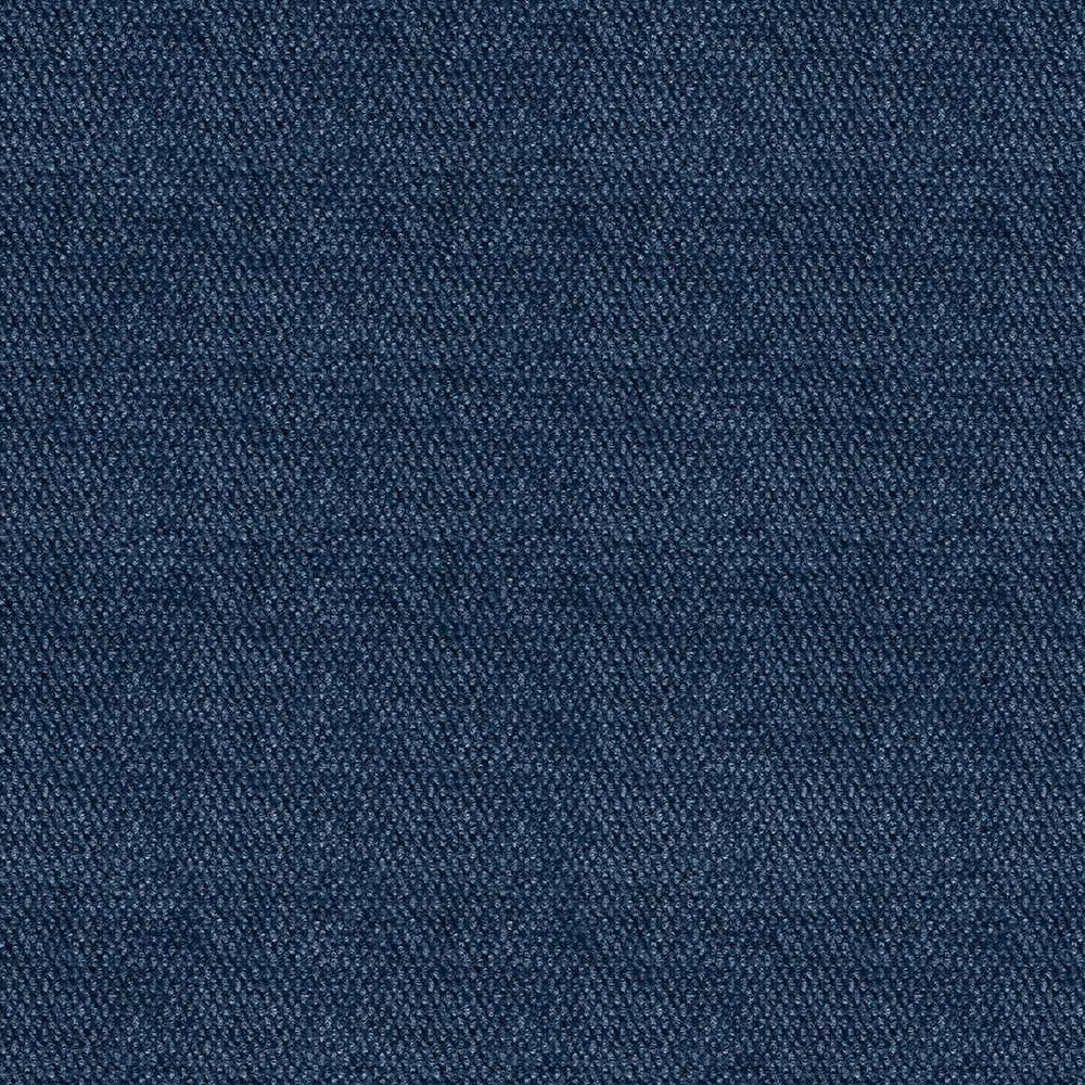 Blue Hobnail 18 in. x 18 in. Indoor and Outdoor Carpet