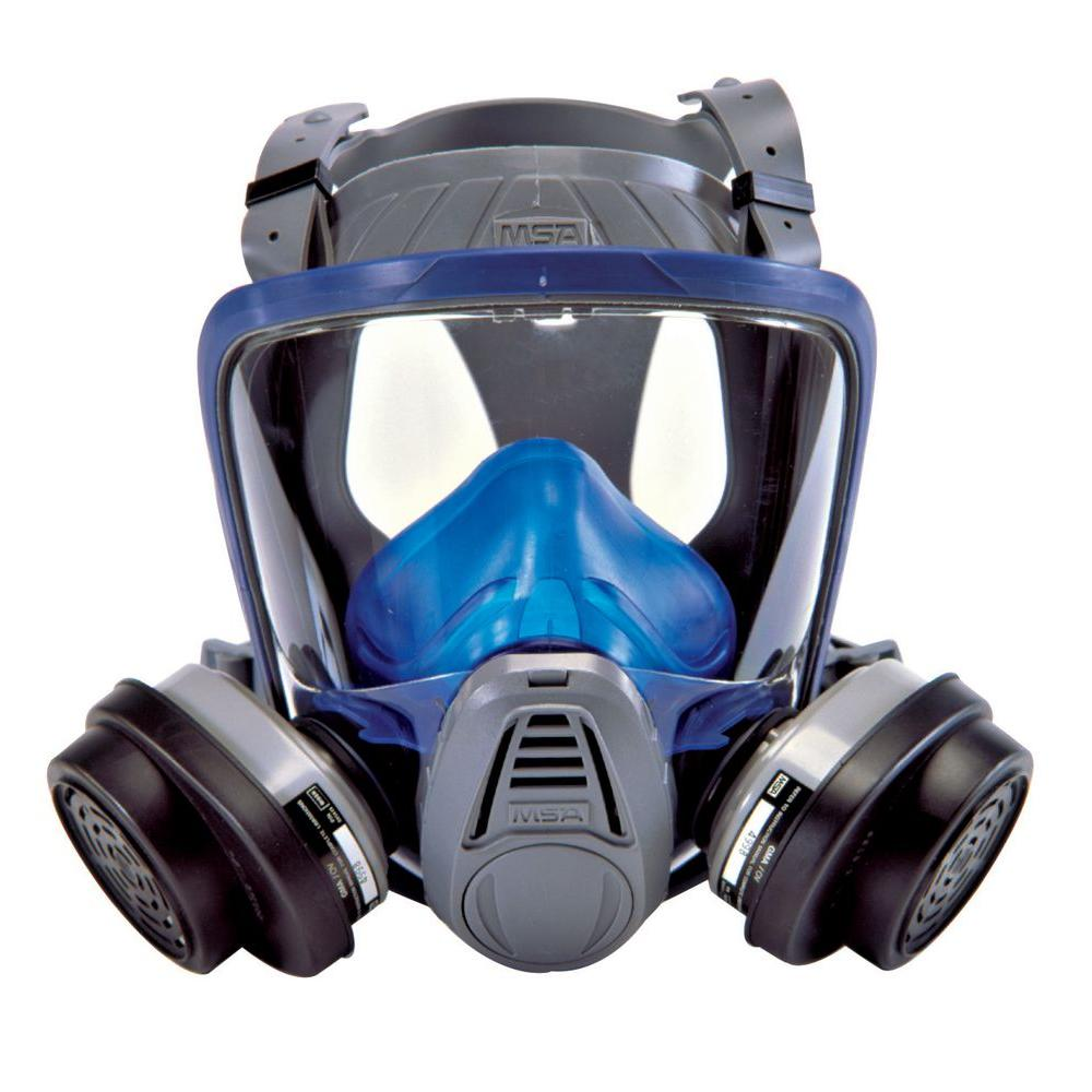 MSA Safety Works Paint and Pesticide Full-Face Respirator-10041138 - The Home