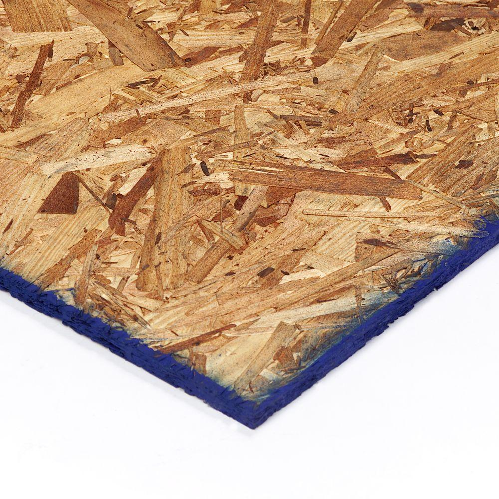 Oriented Strand Board (Common: 19/32 in. x 4 ft. x 8
