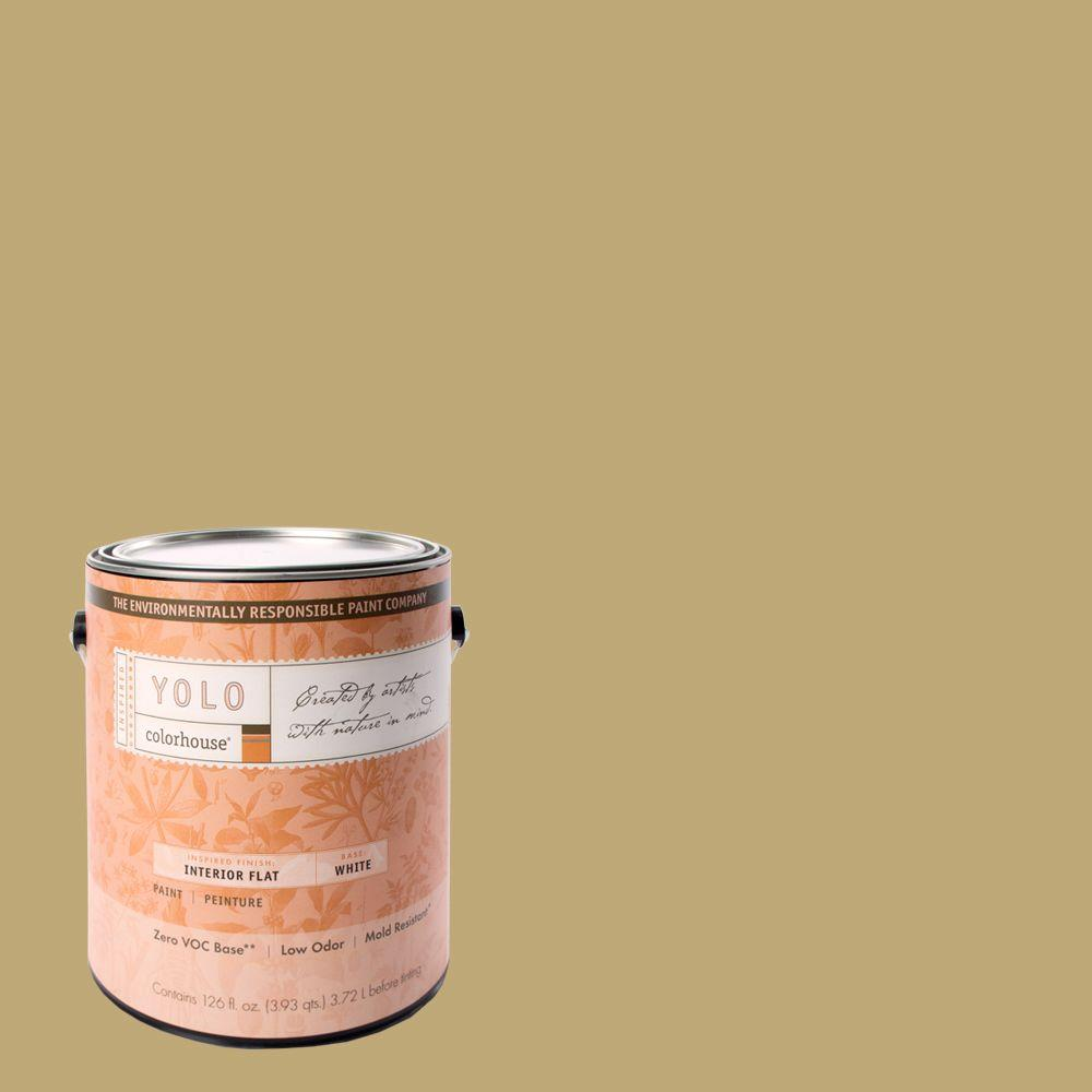 YOLO Colorhouse 1-gal. Stone .02 Flat Interior Paint-DISCONTINUED