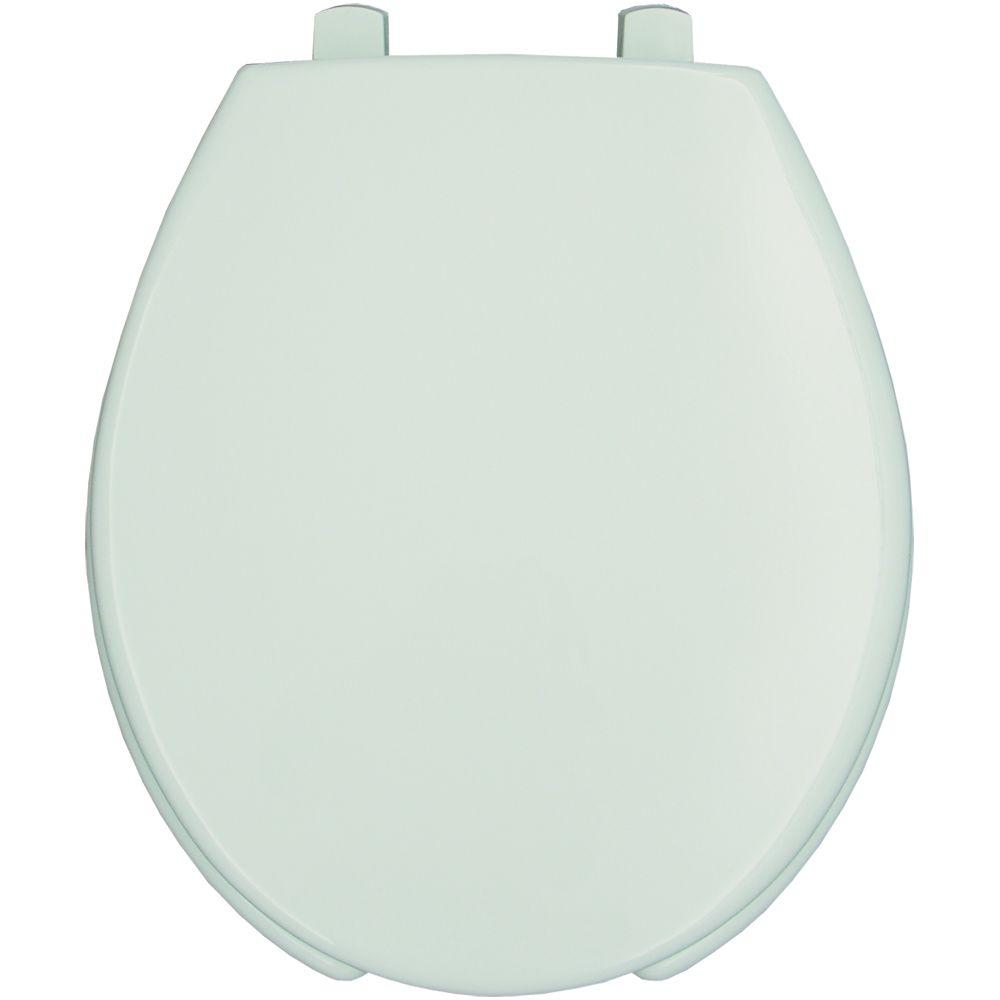 BEMIS Medic-Aid STA-TITE Round Open Front Toilet Seat in White