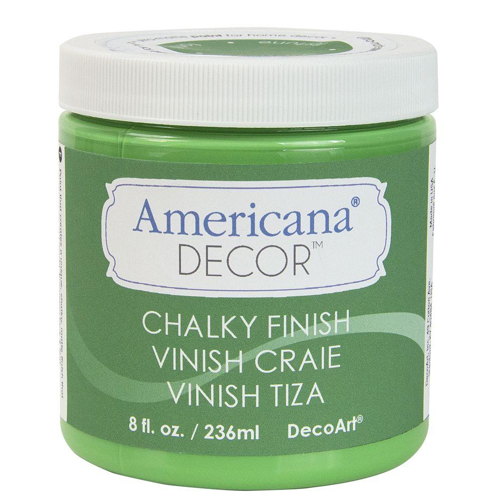DecoArt Americana Decor 8-oz. Fortune Chalky Finish-ADC15-45 - The Home Depot