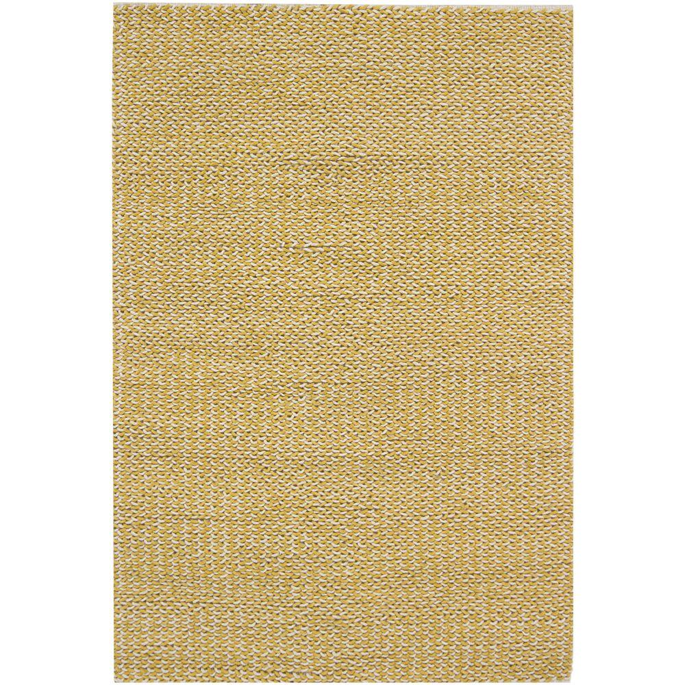 Chandra Milano Yellow/Ivory 5 ft. x 7 ft. 6 in. Indoor Area Rug