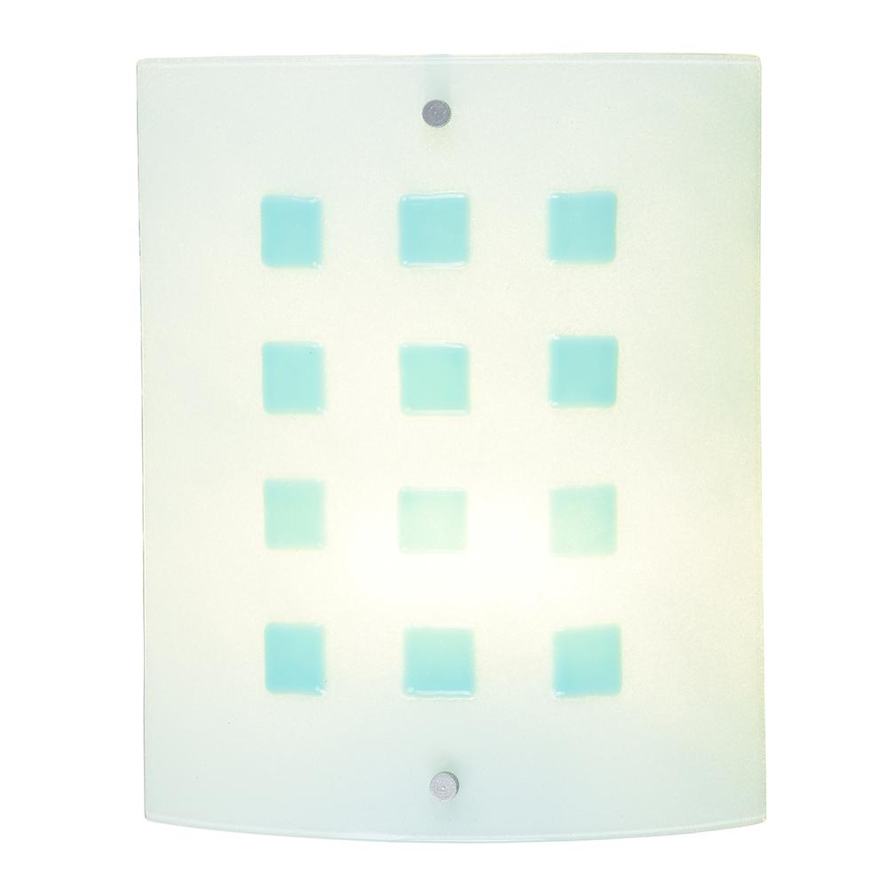 Sherman 7.5-Watt Silver Integrated LED Wall Sconce