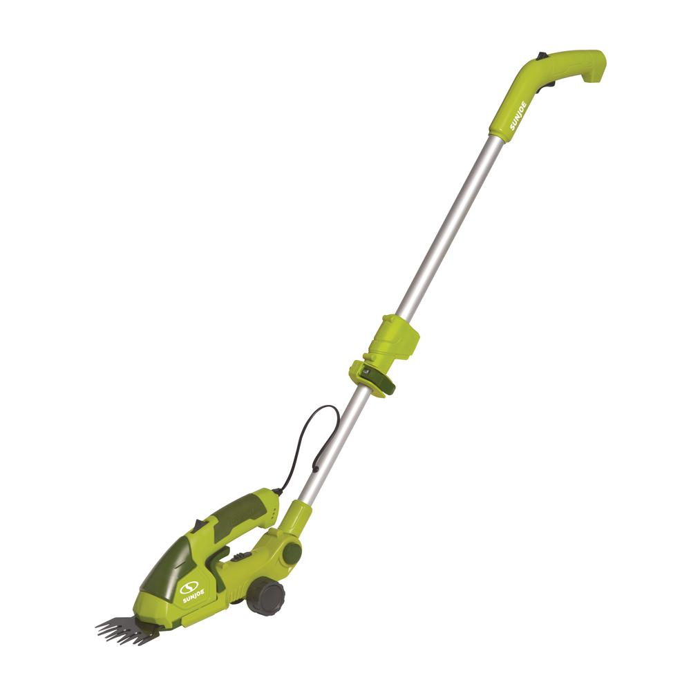 7.2-Volt 2-in-1 Cordless Grass Shear + Hedge Trimmer with Extension Pole