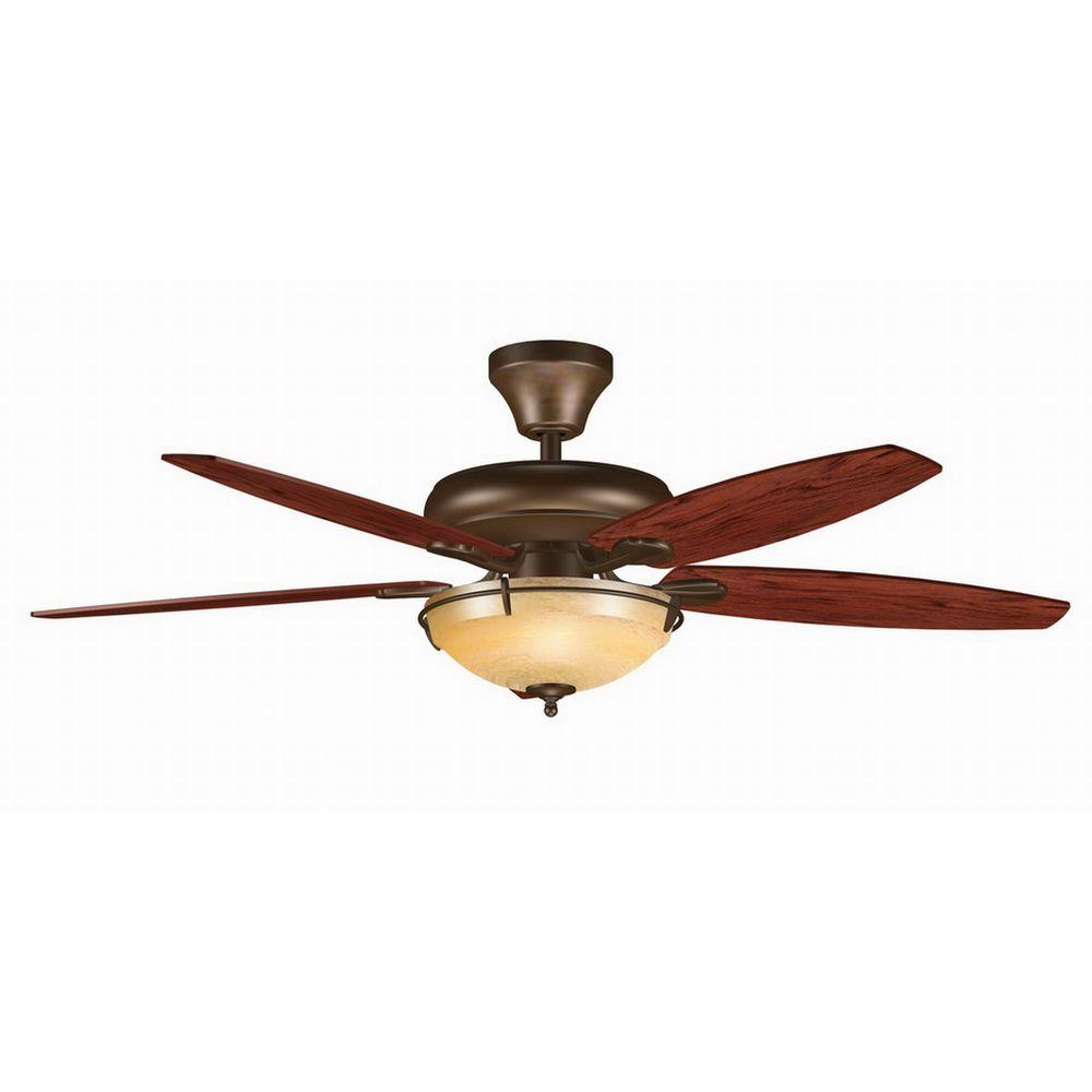 Formula Fans Hawk 52 in. Oil-Rubbed Bronze Click-In Ceiling Fan-DISCONTINUED