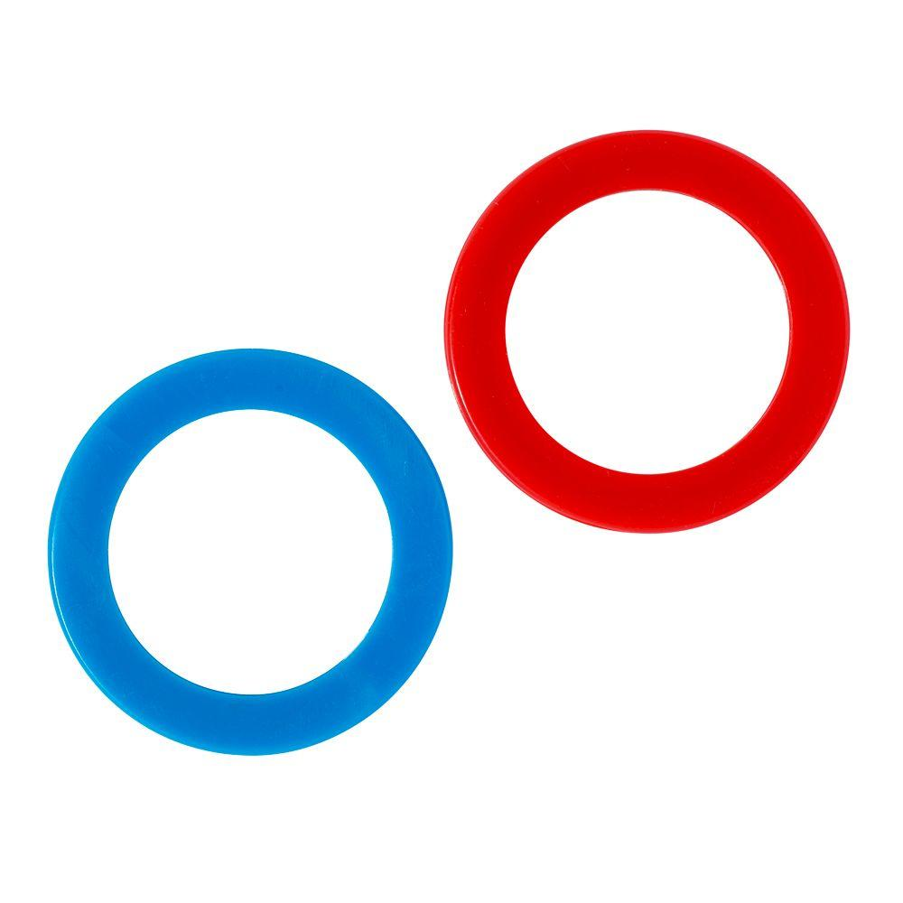 American Standard Red and Blue Index Washer Kit