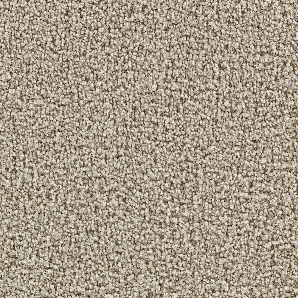 Martha Stewart Living Burghley Gray Squirrel - 6 in. x 9 in. Take Home Carpet Sample