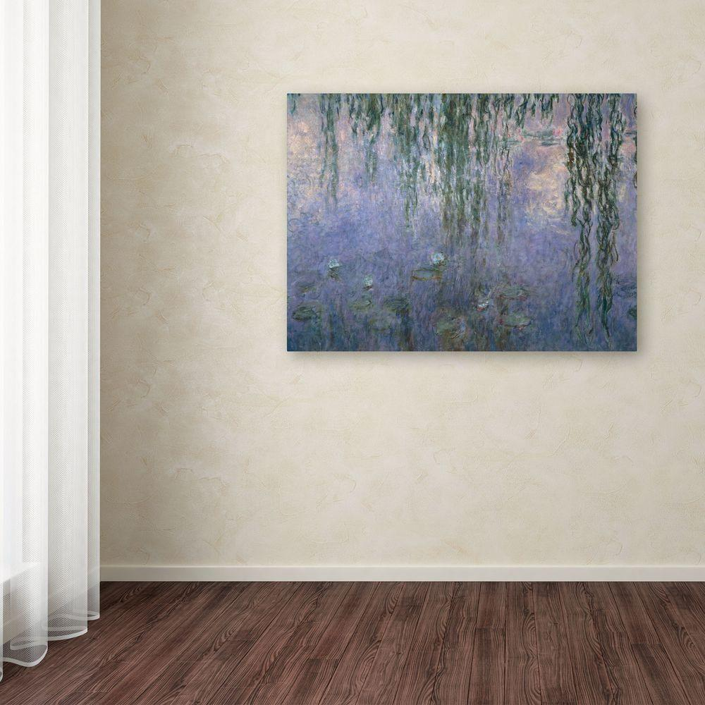 "14 in. x 19 in. ""Water Lilies III 1840-1926"" Canvas Art"