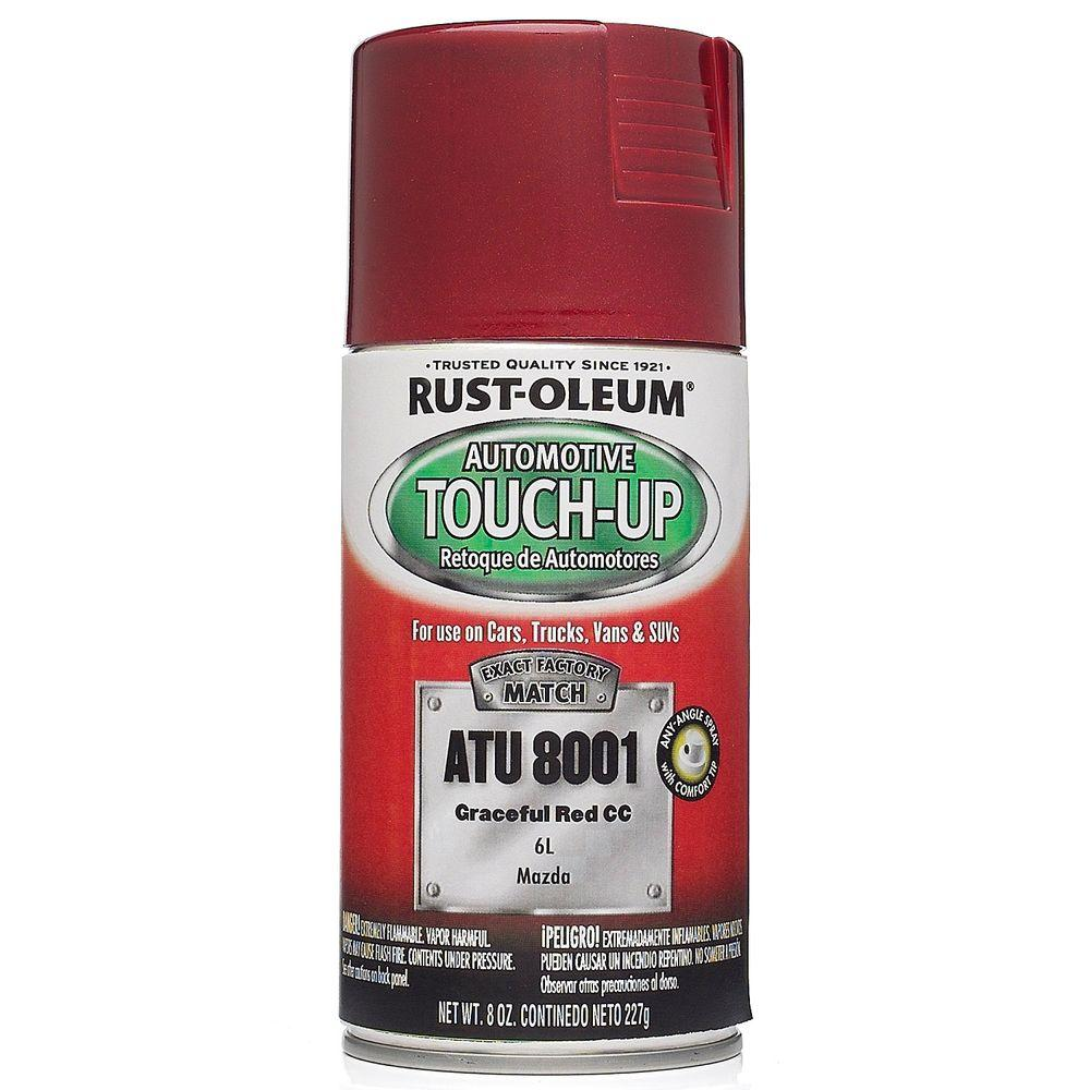 Rust-Oleum Automotive 8 oz. Graceful Red Auto Touch-Up Spray (6-Pack)