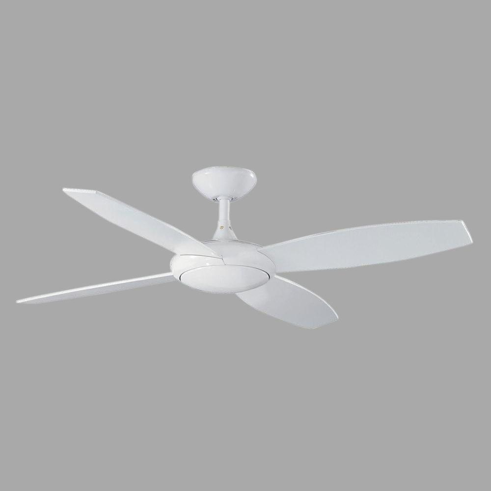 Cassiopeia 52 in. White Indoor Ceiling Fan