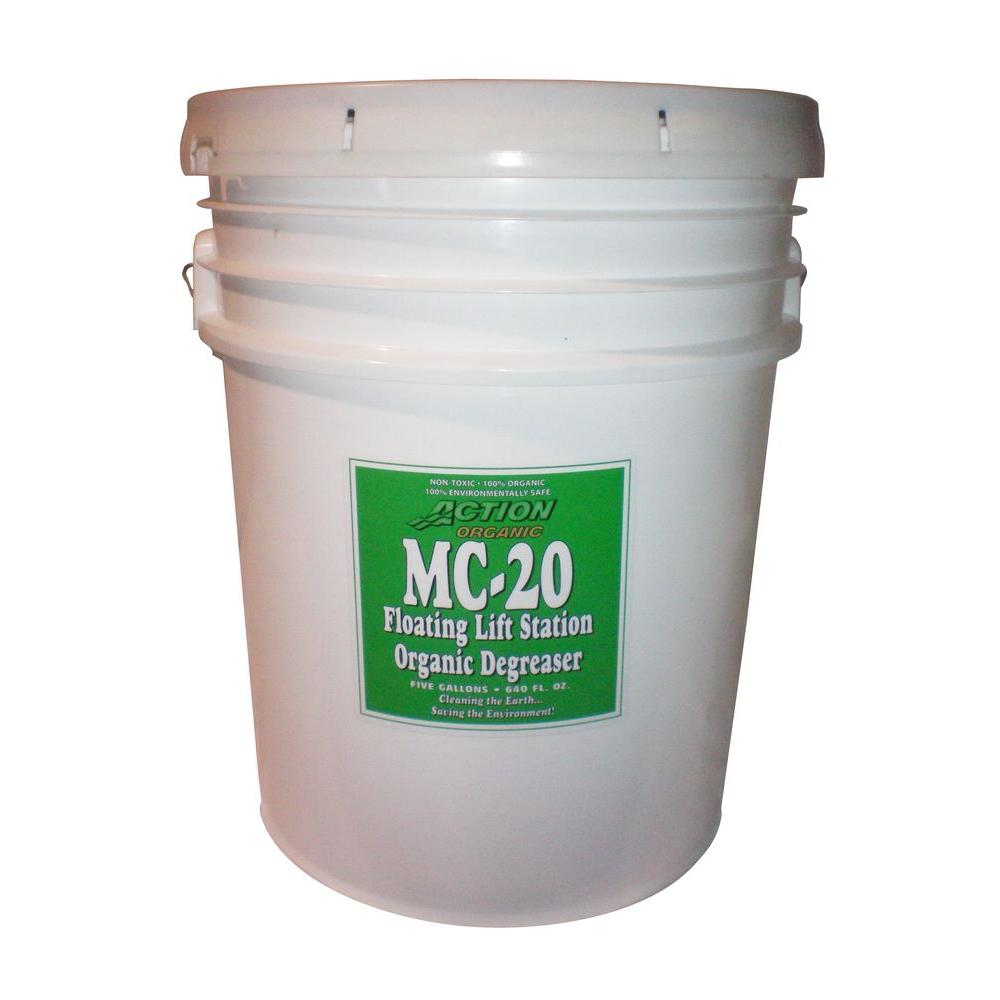 5 Gal. Pail Organic Septic Tank and Lift Station Degreaser (at
