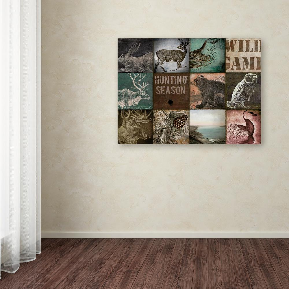 "35 in. x 47 in. ""Cabelas"" by Color Bakery Printed Canvas"