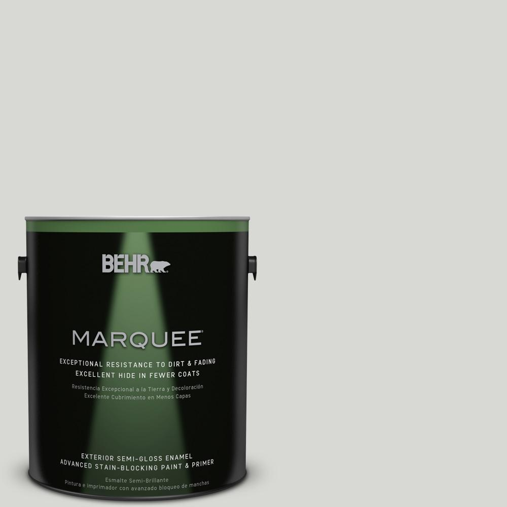 BEHR MARQUEE 1 gal. #T17-01 Close Knit Semi-Gloss Enamel Exterior Paint-545001