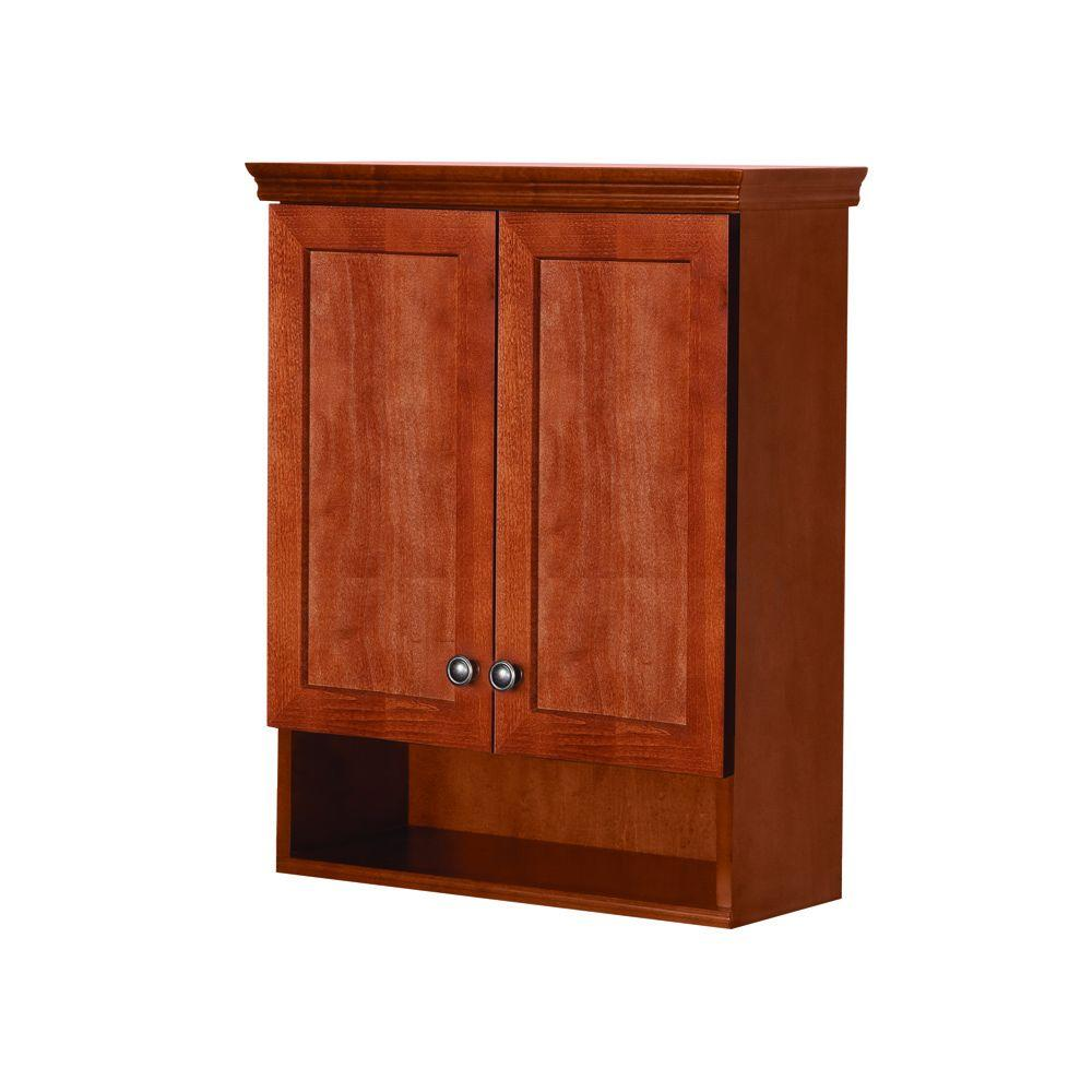 Glacier Bay Lancaster 22 In W X 28 In H X 8 37 50 In D Over The Toilet Bathroom Storage Wall