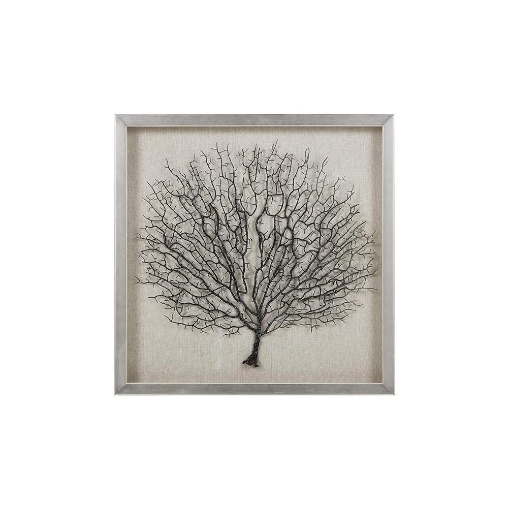 "Home Decorators Collection 19.75 in. x 19.75 in. ""Sea Fan Coral"""