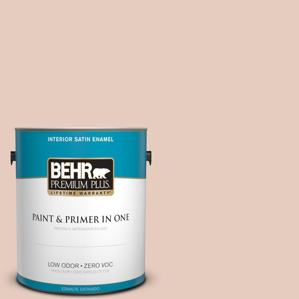 BEHR Premium Plus 1 gal. #T17-05 Life is a Peach Zero