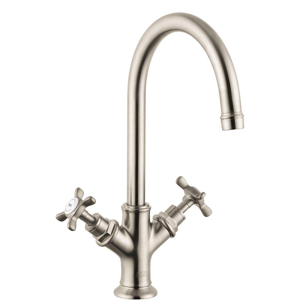 White bathroom sink faucets bathroom faucets the - Kitchen sink faucets home depot ...