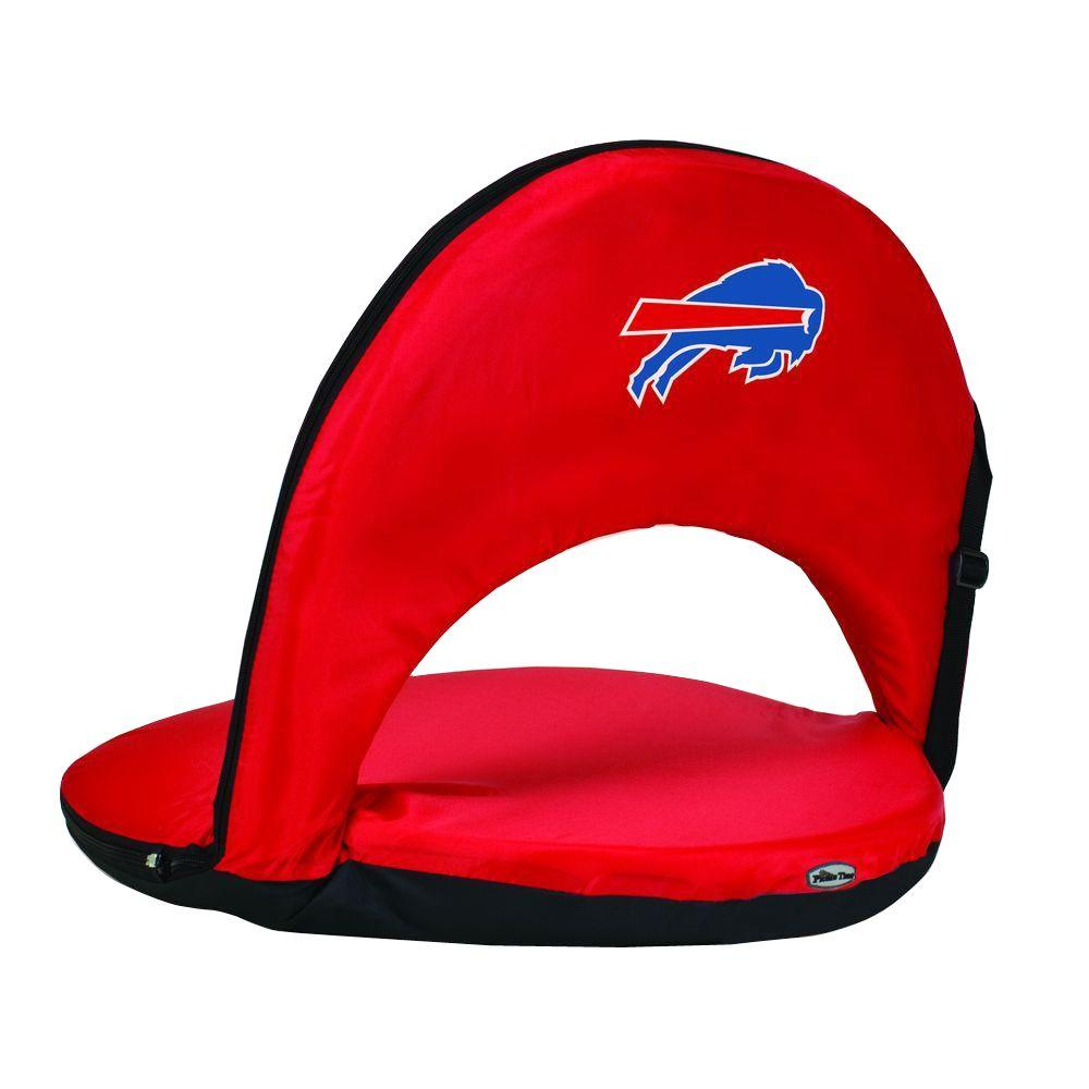 Oniva Buffalo Bills Red Patio Sports Chair with Digital Logo