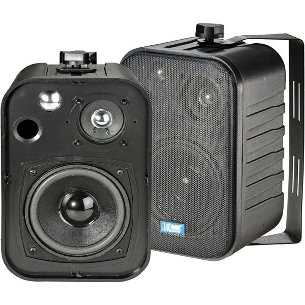 TIC 5 in. 50-Watt 3-Way Outdoor Patio Speaker
