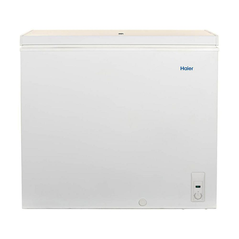 Haier 7.1 cu. ft. Capacity Chest Freezer in White