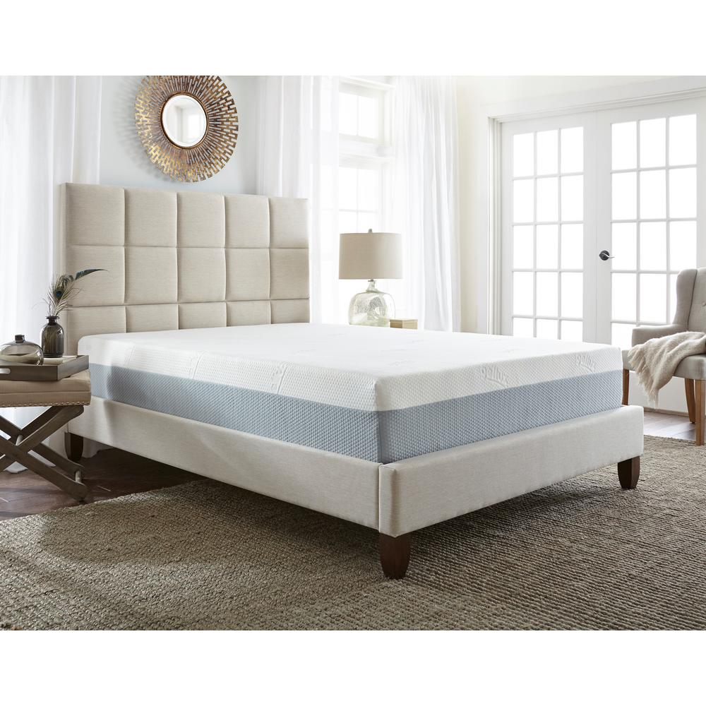 Split King Medium to Firm Memory Foam Mattress
