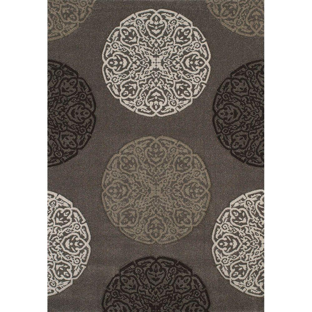 United Weavers Gaze Stone 7 ft. 10 in. x 11 ft. 2 in. Area Rug