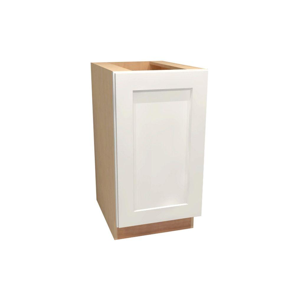 Assembled 18x34.5x24 in. Newport Base Cabinet with Full Height Door in